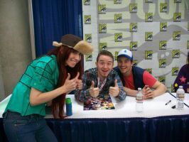 Wendy Corduroy, Alex Hirsch and Jason Ritter by RedVelvetCosplay