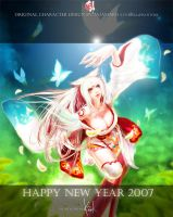 Okami Happy New Year 2007 by kidkidkidkid