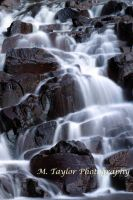 Two Step Cascade by MTaylorPhotography