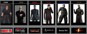 Wesker's Transformation by lsk1977