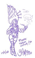 Pirate Voodoo Witch by Yamino
