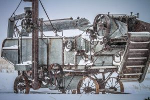 Cold Threshing Machine by Kaptive8
