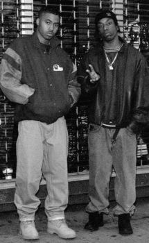 Nas and Big L by TheIronLion
