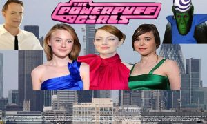 Powerpuff Girls live action movie poster by SteveIrwinFan96