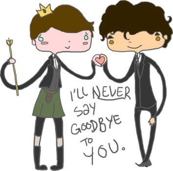 OTP: Never Saying Goodbye by Caiti-Snape