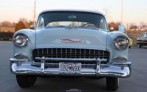 1955 Bel Air Grille by joerayphoto