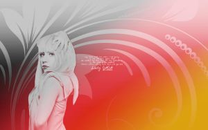lady gaga wallpaper by MorePoison
