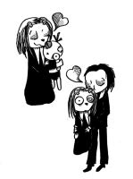 Lenore and Ragamuffin by nocturnal-pet