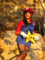 mario bros she is by chronos-drako