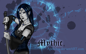 Mythic Wallpaper by Apeliotus