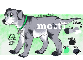 Character Giveaway by Mottimuoto