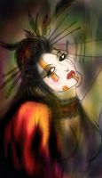 The Geisha by never-over-strange