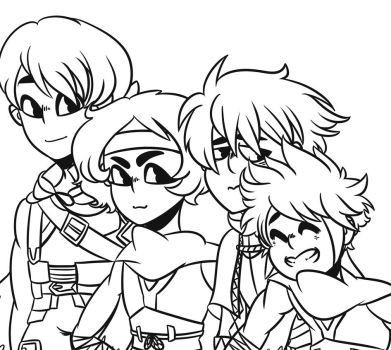 Fire Emblem Family (WIP) by mamaguro