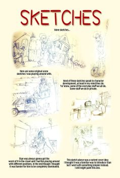 Undertown Issue 0 - Sketches 2 by FishTankPublishing