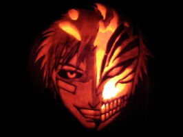 Ichigo Hollow Pumpkin by thrume
