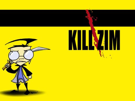Kill Zim--Vol Dib by swolleneyeballs