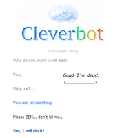 #1. Cleverbot. by InsaneCuteKitty