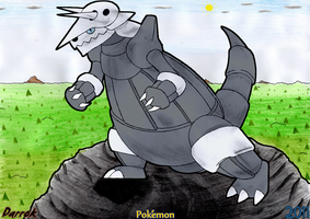 Aggron comission by Darrok