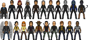 X-Men Movieverse by MicroManED