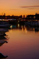 Evening Twilight at Harbour by JS92
