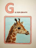 G is for Giraffe by JessicaEdwards
