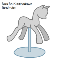 Pony Mannequin Base by kimmycub1234