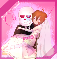-:-Just Married:-: by gloriapainthtf