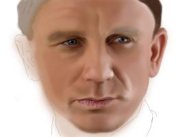 Daniel Craig WIP 2 by al-turnertive