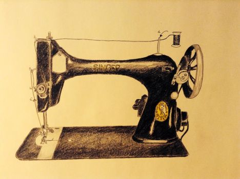 Singer sewing machine - instructions by AnneLaureJousse