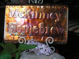 Custom Sign Great for Homebrew or Man Cave by artistiquejewelry