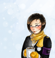 Milizia: Candy Canes and Hot Chocolate by Pikakus