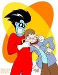 Freakazoid and Dexter... Wha?? by bleedingangel515