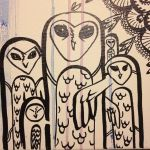 Owls 1 WIP by mothbot