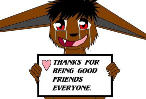 Thank for being good friends by Kyuubichowderfan