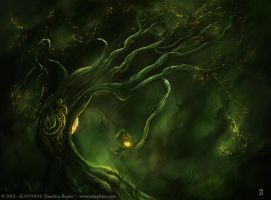 Tempus Tree by senyphine