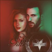 Chris Evans and Nina Dobrev (captain gilbert) by FakeF