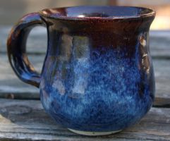 FLOATING BLUE OHATA MUG by CorazondeDios