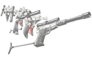 Ascii G1 Megatron Transforming Colourized by magigrapix