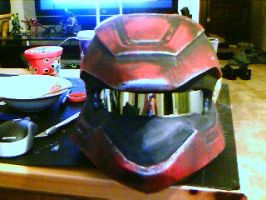 Halo 3 Scout Helmet by BANE-OF-MY-EXISTENCE
