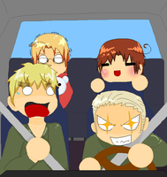APH Germany At The Wheel by HyperOtaku13