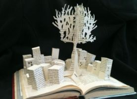 Altered Book Sculpture by kMychele