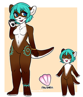 [A] Blue tones otter [OPEN] by Pikapaws