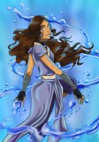 Katara by applejaxshii