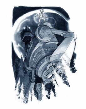 IRON GIANT by EricCanete
