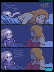 Leona x Diana Bed Scene by GigaDoodles