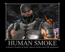Human Smoke is back by IamSubZero