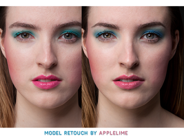 Retouch Model by theskyinside