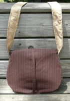 Chocolate and Tan Messenger 2 by Eliea