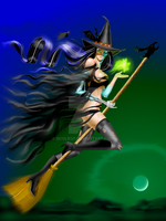 Halloween Witch 2009 by dcolb121
