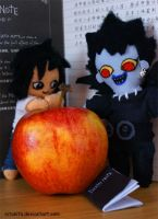 Death Note Plushies by nitanita